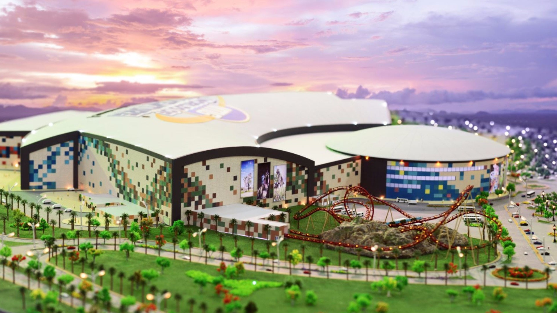 The Largest Indoor Amusement Park Was Opened In Dubai