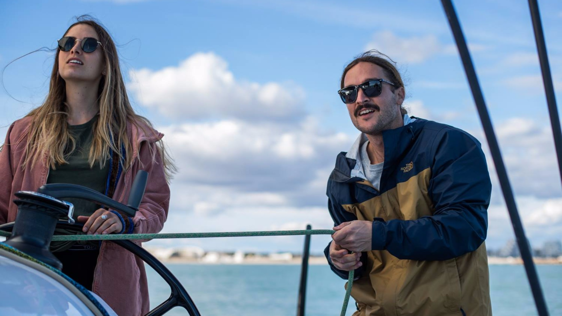 Sailing around the world and make a living!