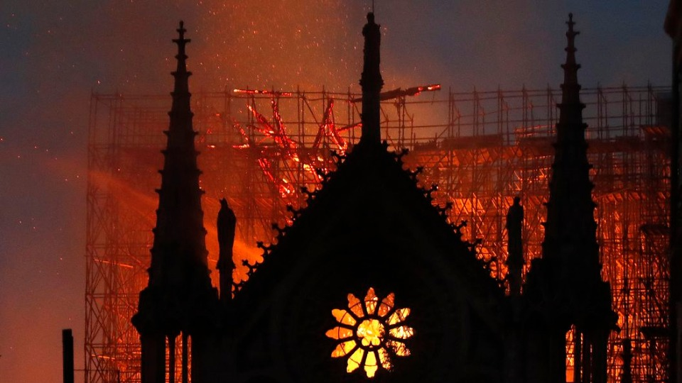 Hundreds of millions of euros pledged to restore Notre-Dame