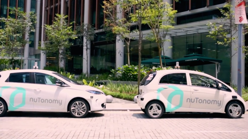 Singapore launched the first self-driving taxi service