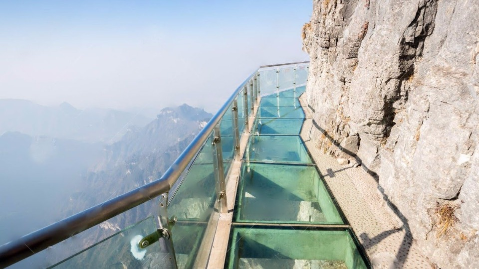 World's largest Glass Bridge was opened to the public